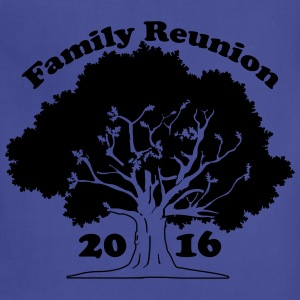 Family Reunion Oak Tree 2016 T-Shirts - Adjustable Apron