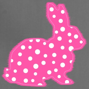 Pink Polka Dots Bunny Kids' Shirts - Adjustable Apron