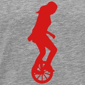 unicycle circus 23 Sportswear - Men's Premium T-Shirt