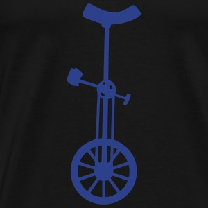 unicycle circus 2 Long Sleeve Shirts - Men's Premium T-Shirt