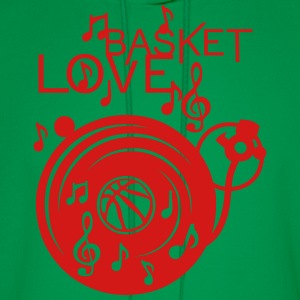 love basketball turntable turns 33 music Women's T-Shirts - Men's Hoodie
