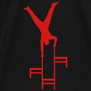 balance chair circus 22 Hoodies - Men's Premium T-Shirt