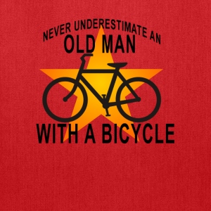 bicycle_old_man_ - Tote Bag