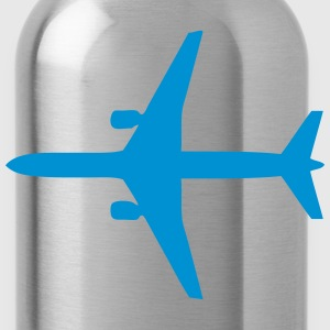 airliner flight 4 Long Sleeve Shirts - Water Bottle
