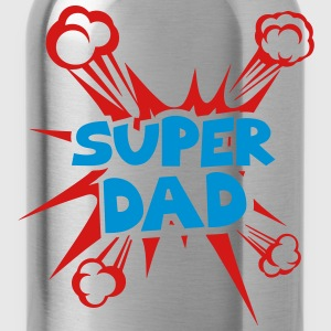 super dad explosion 40222 T-Shirts - Water Bottle