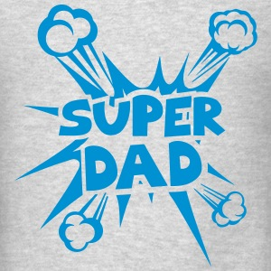 super dad explosion 4022 Long Sleeve Shirts - Men's T-Shirt