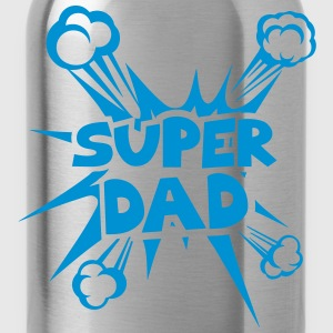 super dad explosion 4022 Long Sleeve Shirts - Water Bottle