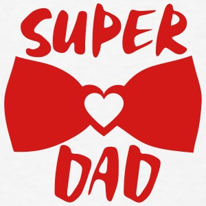 super dad bow tie  Long Sleeve Shirts - Men's T-Shirt