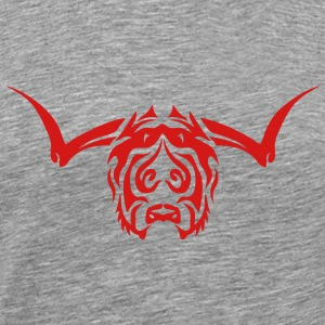 tribal buffalo 402 Long Sleeve Shirts - Men's Premium T-Shirt