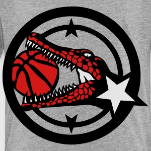 basketball club crocodile logo ball Kids' Shirts - Toddler Premium T-Shirt
