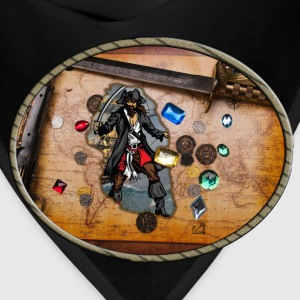 Pirate treasure map - Bandana