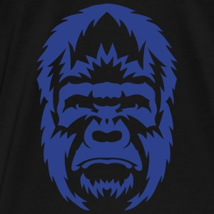 wild animal gorilla 3062 Hoodies - Men's Premium T-Shirt