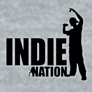 Indie Nation Water Bottle - Unisex Tri-Blend T-Shirt by American Apparel