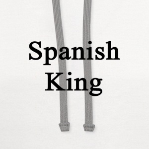 spanish_king T-Shirts - Contrast Hoodie