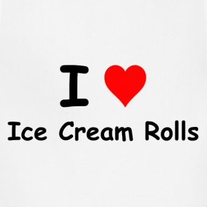 I Love Ice Cream Rolls Kids' Shirts - Adjustable Apron