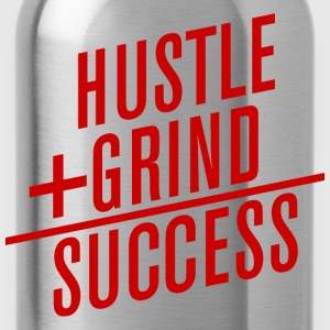 HUSTLE+GRIND=SUCCESS T-Shirts - Water Bottle