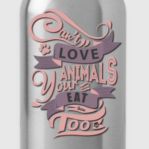 T-Shirt for animal lovers - Water Bottle