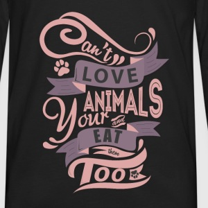 Premium Tank Top for Animal Lovers - Men's Premium Long Sleeve T-Shirt