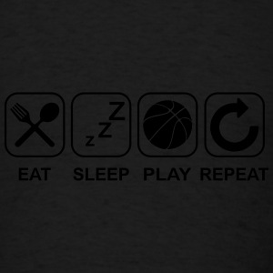 Eat Sleep Play Repeat Sportswear - Men's T-Shirt