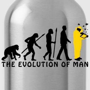 evolution_of_man_beekeeper_2c T-Shirts - Water Bottle
