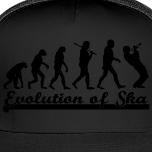 Evolution of Ska Women's T-Shirts - Trucker Cap