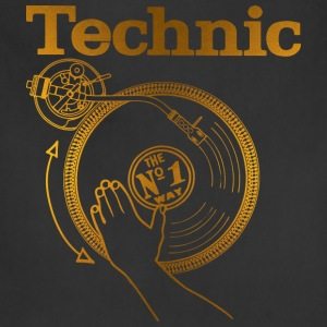 gold turntable T-Shirts - Adjustable Apron