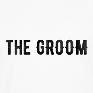 the groom tshirt - Men's Premium Long Sleeve T-Shirt