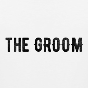 the groom tshirt - Men's Premium Tank