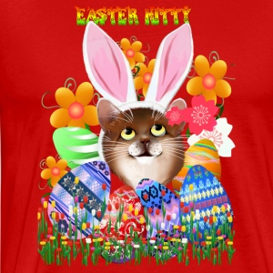 EASTER KITTY - Men's Premium T-Shirt