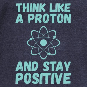 Think Like A Proton Hoodies - Women's Wideneck Sweatshirt