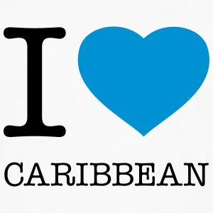 I LOVE CARIBBEAN - Men's Premium Long Sleeve T-Shirt
