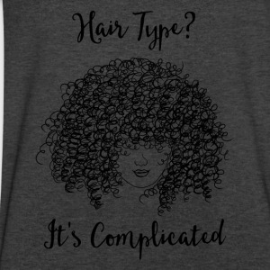 It's Complicated Long Sleeve Shirts - Men's V-Neck T-Shirt by Canvas