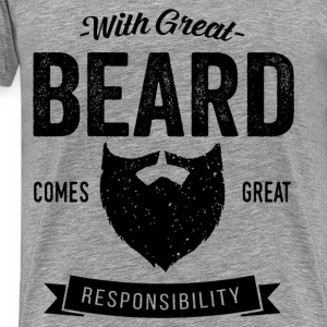 With Great Beard Sportswear - Men's Premium T-Shirt