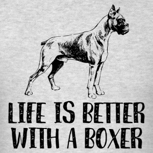 Life Better With A Boxer Sportswear - Men's T-Shirt