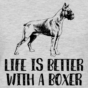 Life Better With A Boxer Sportswear - Men's Premium Long Sleeve T-Shirt
