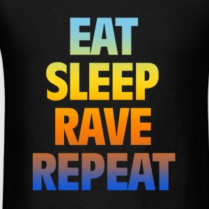 eat rave - Men's T-Shirt