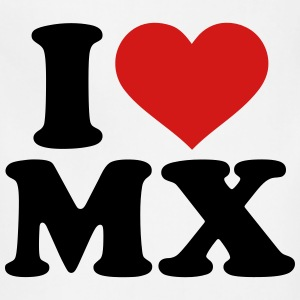I love MX T-Shirts - Adjustable Apron