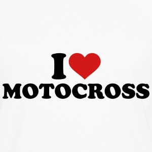 I love Motocross Kids' Shirts - Men's Premium Long Sleeve T-Shirt