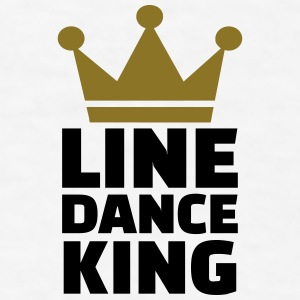 Line dance King Mugs & Drinkware - Men's T-Shirt