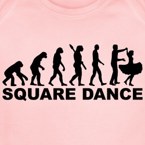 Square dance Kids' Shirts - Short Sleeve Baby Bodysuit