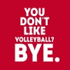 You don't like volleyball? Bye Volleyball T Shirt T-Shirts - Men's Premium T-Shirt