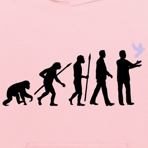 evolution_of_man_taubenzuechter03_2c Women's T-Shirts - Kids' Hoodie