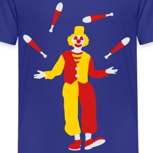 clown_032016a_3c Kids' Shirts - Toddler Premium T-Shirt