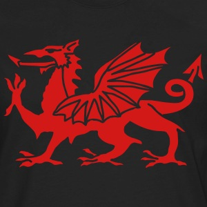 Welsh Dragon T-Shirts - Men's Premium Long Sleeve T-Shirt