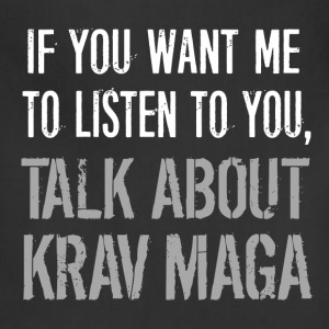 Funny Krav Maga T Shirt - Adjustable Apron