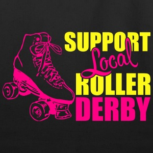 Support local roller derby Tanks - Eco-Friendly Cotton Tote