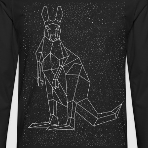 Kangaroo Constellation Women's T-Shirts - Men's Premium Long Sleeve T-Shirt