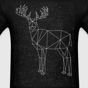 Deer Constellation Long Sleeve Shirts - Men's T-Shirt