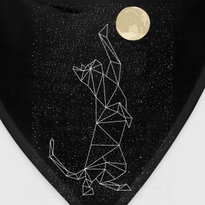 Cat Constellation Reaching For Moon T-Shirts - Bandana