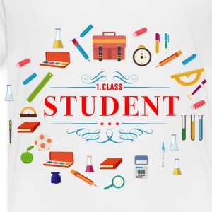 pupil_student_02201601 Kids' Shirts - Toddler Premium T-Shirt